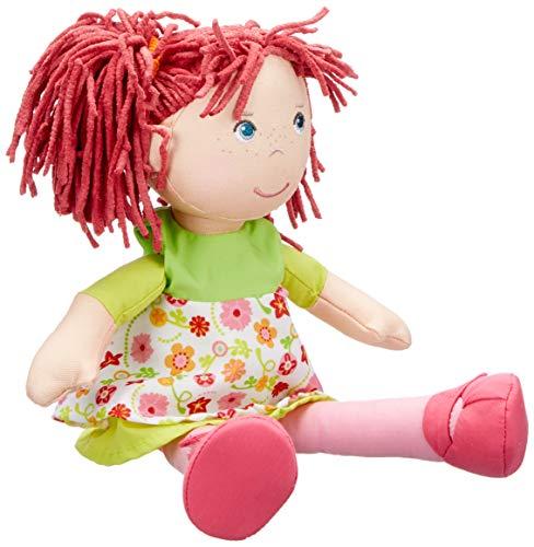 HABA 302110 - Puppe Liese - Gestickt Ersten Geburtstag Kleid