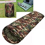Pusheng Sleeping Bag - Envelope Lightweight Portable, Waterproof, Comfort With Compression Sack, Great For Traveling, Camping, Hiking, Outdoor Activities 6