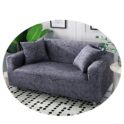 Nordic Leaf Pattern Sofa Cover Cotton Elastic Stretch Couch Cover Universal Sofa Covers for Living Room Pets Single Home Decor Color 11 1-seat 90-140cm