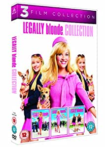 legally blonde 3film collection dvd 2001 amazonco