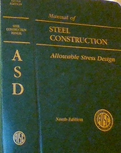 Manual of Steel Construction: 1
