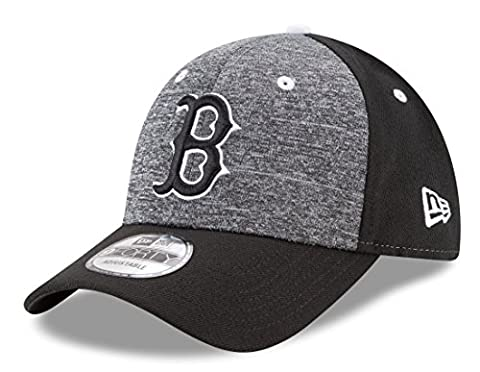 "Boston Red Sox New Era 9Forty MLB ""League Shadow 2"" Adjustable Hat Hut - Black"
