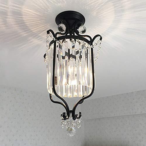 Moliay Cristalina moderna industrial gota de agua iluminación de la lámpara semi...