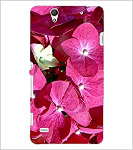 PrintDhaba Flowers D-2157 Back Case Cover for SONY XPERIA C4 (Multi-Coloured)