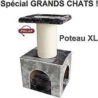 Zolux Kratzbaum für große Katze Typ mainecoon 50x 40x 84cm