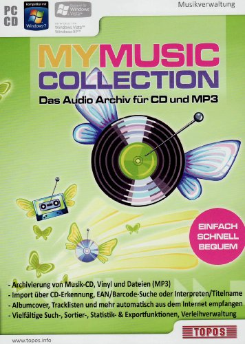 my-music-collection-das-audio-archiv-fur-cd-und-mp3-import-allemand