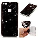 Linvei Huawei P10 Lite Hülle Case, [Marmor Muster]TPU Silicone Weich Case Schutzhülle Ultra Dünn Hülle für Huawei P10 Lite-A4