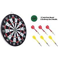 WE&ZHE Famiglia Torneo Sized Dart gioco delle freccette set completo grandi giochi per bambini Sport Tempo libero per Office (set) ,