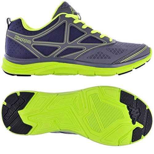 Sportschuhe - Kappa4training Asilet 2 DK GREY-ACID GREEN