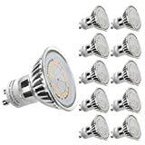 LE 10 Pack GU10 LED Light Bulbs, 50W Halogen Bulbs Equivalent, MR16 3.5W, 350lm, Warm White, 3000K, 120° Beam Angle, Recessed Lighting, Track Lighting Bild 7