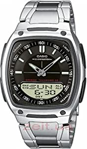 Casio Collection – Men's Analogue/Digital Watch with Stainless Steel Bracelet – AW-81D-1AVES