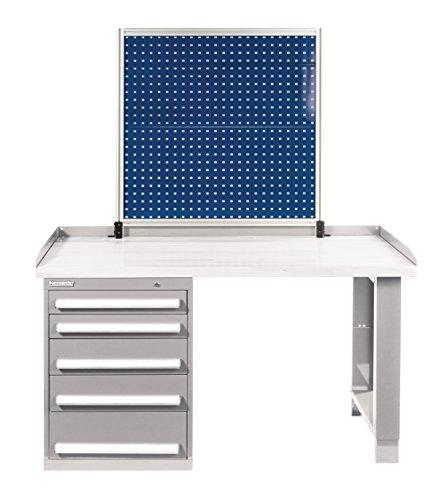 Kennedy Verarbeitung 50070bl Duschschiebetür gerahmt toolboard, benchmount, industrieller blau
