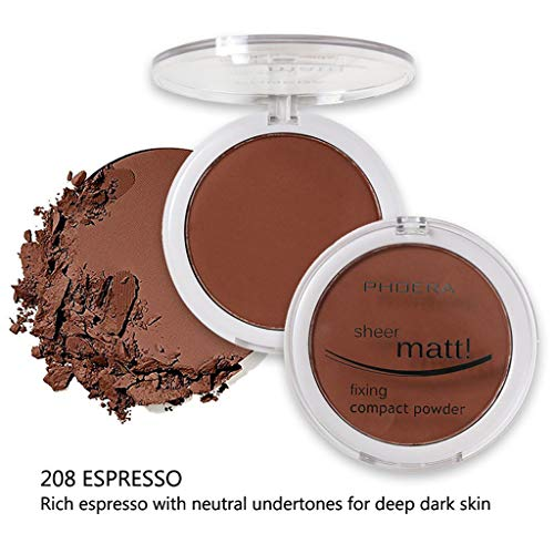 Concealer Matte Pearl Finishing Powder Pressed Powder 8 Farben Pulverkuchen (H) ()