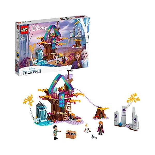 LEGO Frozen La Casa sull'albero Incantata 41164 Set di Costruzioni per Ricostruire la Magica Atmosfera di Frozen e… 2 spesavip
