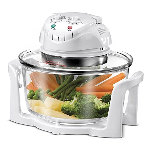 12 Liter Halogen Convection Oven Mini Oven hot air halogen grill Included extension ring for 17 liters