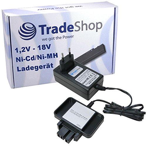 Preisvergleich Produktbild Trade-Shop Universal Akku Ladegerät (1,2V-18V) Ladestation Schnellladegerät für AEG BEST 9.6X Super BL Multi-volt-lamp BS2E 9.6T P9.6 BDSE12T BEST12BBPB BEST12X BS2E 12T SB2E 12 WBE2E 12