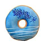 Kreatives rundes Krapfen-Kissen | Soft Donut Kissen für Dekoration / Kissen - A2
