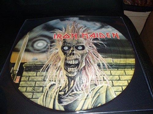 33T.IRON MAIDEN.PICTURE DISC..1980 ALBUM 8 TITRES.EMI.LIMITED EDITION (Iron Maiden Picture Disc Vinyl)
