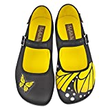 Hot Chocolate Design Chocolaticas Butterfly Ballerines Mary Jane pour femmes US 9 multicolore