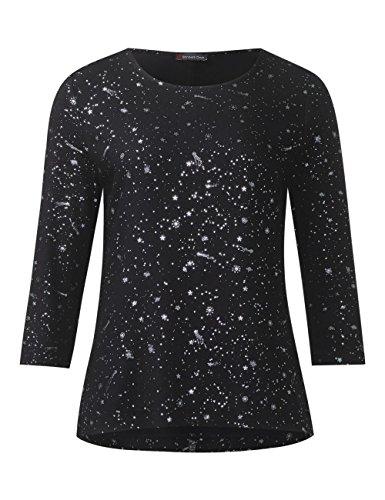 Street One, T-Shirt Femme Noir
