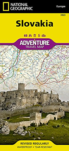 Slovakia: Travel Maps International Adventure Map (National Geographic Adventure Map, Band 3323)