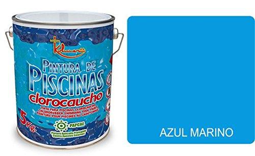 PINTURA DE PISCINAS CLOROCAUCHO KOLMER PAPCAE (azul marino)