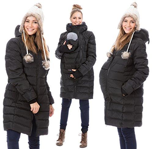 Bestseller einkaufen neueste verkauft GoFuture Damen Tragejacke für Mama und Baby 4in1 Känguru ...