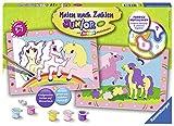 Ravensburger 27773 - Süße Ponys - Malen nach Zahlen Junior