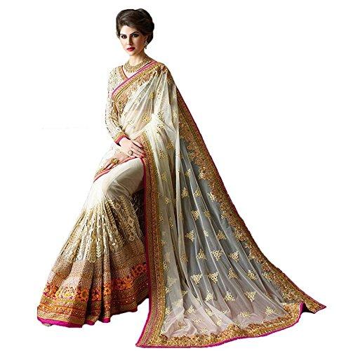 Kamal Women's Ethnic Wedding And Party Wear Heavy Hand Work Bridal Wear...
