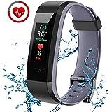 CHEREEKI Pulsera Actividad, Pulsera de Actividad Inteligente con Monitor de Calorías, Monitor de Ritmo Cardíaco.