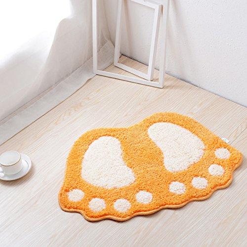 Haply Große Füße Bad WC Vorleger Teppiche Teppich Absorbierenden Matten  Fußmatte Fußmatte Badezimmer Teppiche Schlafzimmer