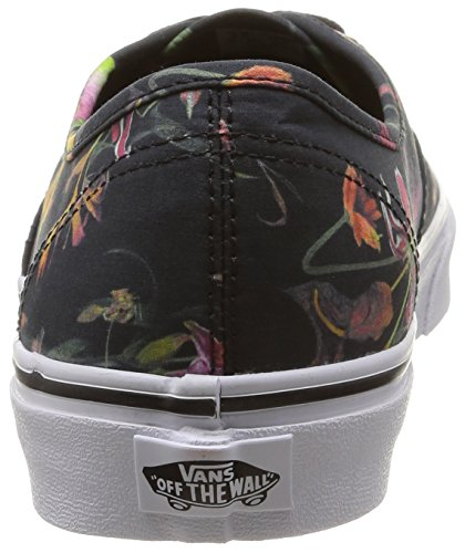 Vans U Authentic Black Bloom, Unisex-Erwachsene Sneakers Schwarz (black Bloom/black/true White)