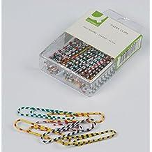 Q-Connect Aktenklammern, 50 mm, 30 Stück zebra