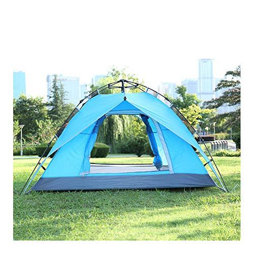 ERLIANG 3 * 4 Zelt im Freien liefert Doppeltür automatische Geschwindigkeit offenes Zelt Camping Berg regendicht warmes Zelt