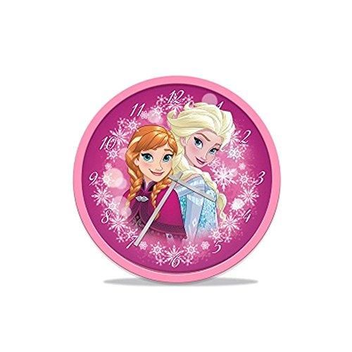 Disney Frozen - Il regno di ghiaccio Ragazze Wall clock - rosa fucsia -