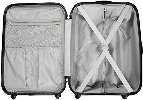 Trolley-Kofferset Ultra-Light mit 4 Rollen, 2tlg. Havanna