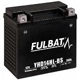 Fulbatt - Batterie moto YHD14HL-BS étanche au Gel 12V / 14Ah spécial Harley