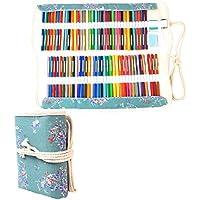 Damero Wrap Tele per 100 matite colorate, cassa del supporto