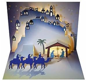 Forever Handmade Cards Pop Ups Pop109 Christmas Nativity