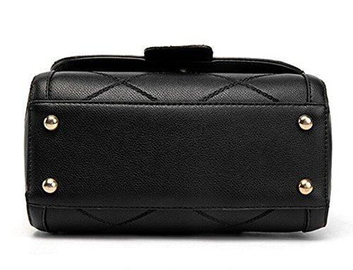 La Signora Borsa Borsa A Tracolla Messenger Bag Dolce Signora Pacchetto Grey