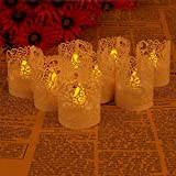 GRD 50 tück Led Papier Oder Votivkerze Kerze Halter Deko Motiv Papier Wrapper Kerzenhalter Deko Motiv Papier Wrapper Kerzenhalter Teelichthalter