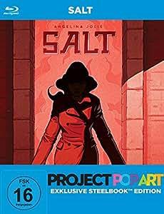 Salt - PopArt Steelbook Edition [Blu-ray]