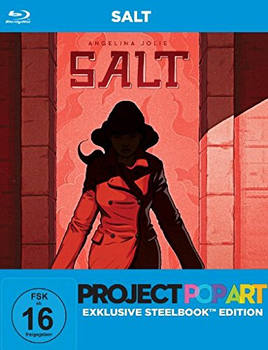 Salt - PopArt Steelbook Edition [Blu-ray]