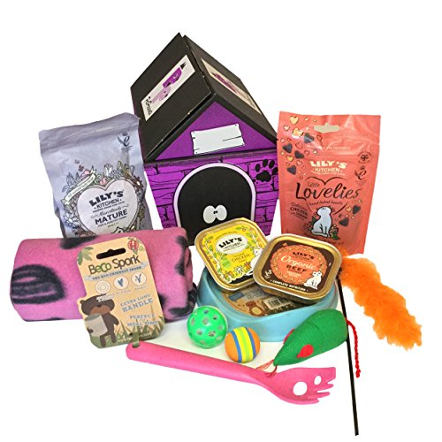 CAT TREAT GIFT HAMPER - PINK
