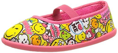 Be Only Smiley Sweet, Chaussons Doublé Chaud mixte enfant Multicolore (Multico)
