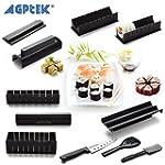 Sushi Maker Kit, AGPtek 10 Pieces Com...