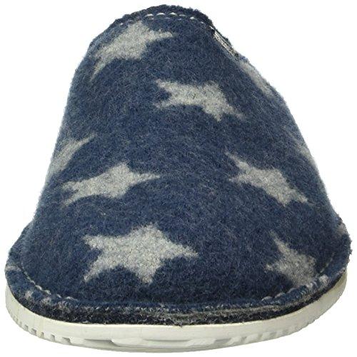 Living Kitzbühel Unisex-Erwachsene Pantoffel Sterne Starwalk Pantoffeln Blau (Jeans 560)