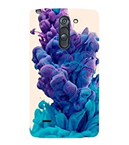 FUSON Splash Of Paint Abstract 3D Hard Polycarbonate Designer Back Case Cover for LG G3 Stylus :: LG G3 Stylus D690N :: LG G3 Stylus D690