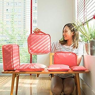 Beautytalk Kofferorganizer Reise Aufbewahrungsbeutel 6 pcs/Set Kleidung Gepäckverpackung Beutel Kleidung Ordentlich Organizer Schrankordnungssysteme