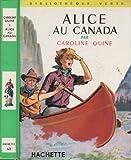 Alice au Canada.
